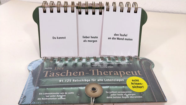 Der Taschen-Therapeut - Ratschläge für alle Lebenslagen
