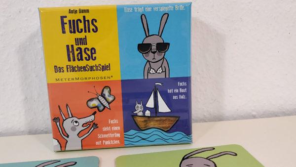 Fuchs und Hase (Kinderspiel) Das FlächenSuchSpiel