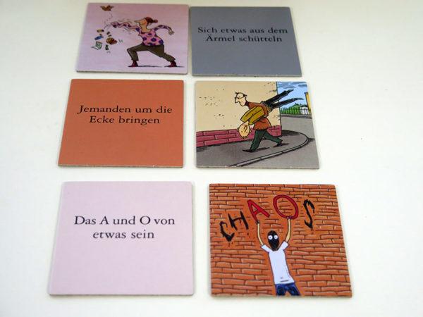 Die Wände haben Ohren (Spiel) Ein Memo-Legespiel in Wort und Bild