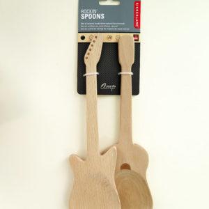 Buchenholzlöffel Gitarre